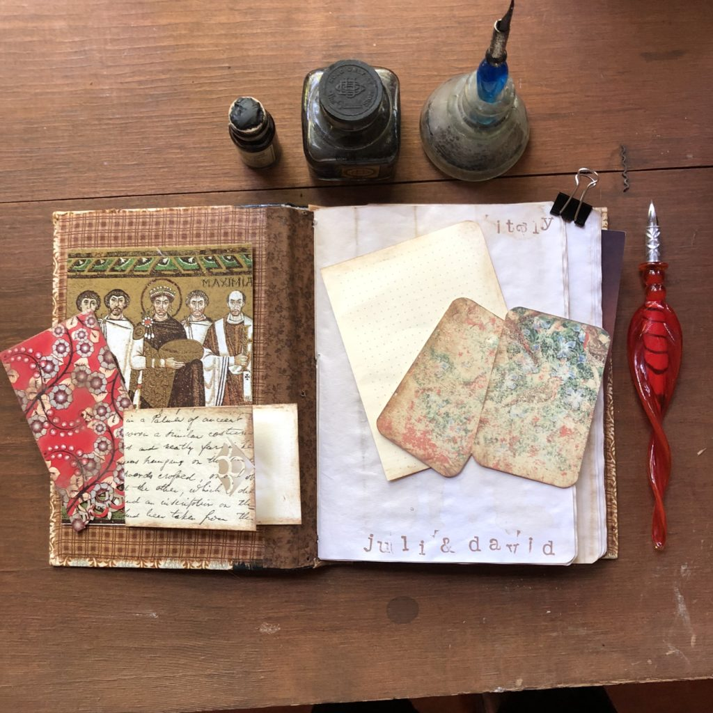Italy Travel Junk Journal